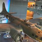 """The Flying Fortress"" in the Boeing Pavilion"