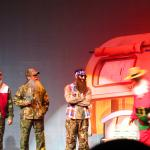 Elf production with the Duck Dynasty guys