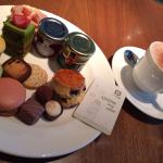 Afternoon tea at Above & Beyond lounge