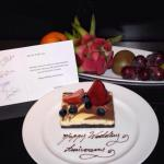 Sweet & touching gesture from the hotel staff for my bro & sis in law!