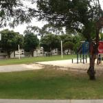 Great play area and one on one basketball court
