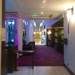 From restaurant to hall