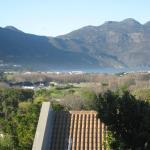 view over Hout Bay from our room