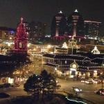 View of Plaza Lights from room 537