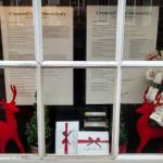 Nice Xmas window menu display