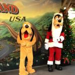 Christmas with Goofy & Pluto