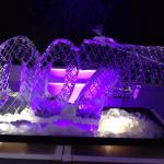 007 ice sculpture