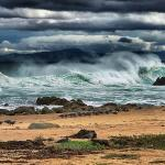 Pacific Grove - a storm was a brewin'