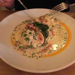 lobster wrapped ravioli.... Pure Perfection