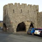 Historic walled town
