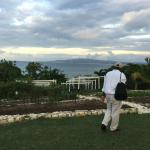 Organic garden on top of the hill overlooking Montego Bay.