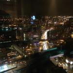 View from floor 17 at night