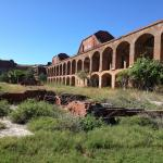 fort jefferson courtyard
