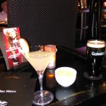 apple martini and guiness