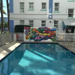 Pool and Mural
