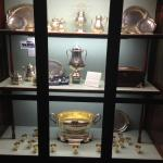 Ship's silver service-a gift of the people of Texas