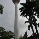 KL Tower, only 5 minutes away from the hotel. Has a shuttle bus.
