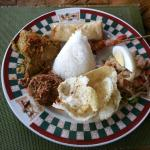 Nasi Campur spa set lunch
