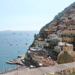 View of Positano from my balcony