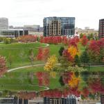 View from Guthrie Theater in October.
