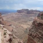 At the grand view, Island In the Sky, Canyonlands National Park