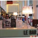 "the Le Bar, and the ""Taste"" restaurant (further inside)"