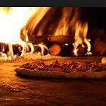 Wood fired pizza- limited time only
