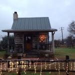 Bolinger Cabin decorated for Christmas!