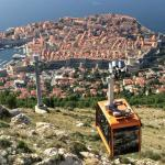 cable car with the Old Town