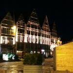 Tournai Grand Place at night