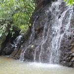 private waterfalls within the property