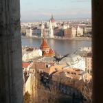 A view from Fisherman's Bastion