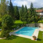 Outdoorpool im Ludwig Royal