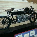 1907 Curtis V-8 powered motorcycle !