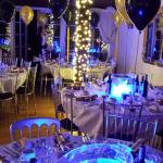 Christmas Party Setting