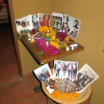 My Altar--Noches de la Muertos...the staff even brought tables for me; I had put it on the floor