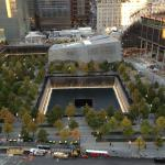 911 Memorial as seen from room