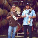 Michael Larner and Mikael Sigouin, Champions of the Grenache Face Off 2014