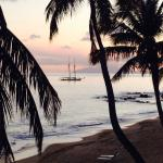 Curtain bluff sunset