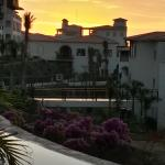 sunset on the grounds