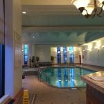 Pool and spa on the 6th floor