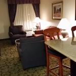 Suite 326 lounge room