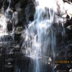 one of the waterfalls on our trail