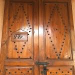 Room entrance door
