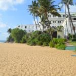 beautiful hotel with private beach