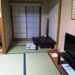 rest area in room, japanese style room is quite spacious