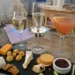 complimentary Dorset cheeses