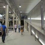 walking tour on the convenient ramp