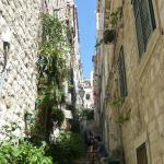 Steep streets in Old Town