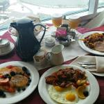 Our room service breakfast was delicious!